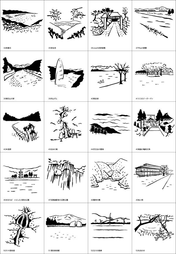 2016年の景観ビュースポット